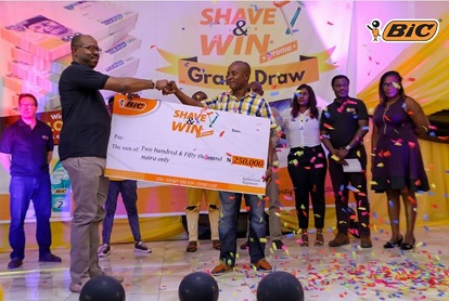 BIC – SHAVE & WIN DRAW FIRST DRAW6